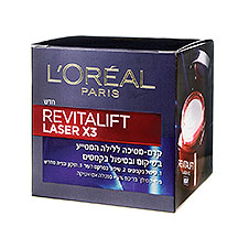 Revitalift Laser X 3 - Night Gel-קרם לילה